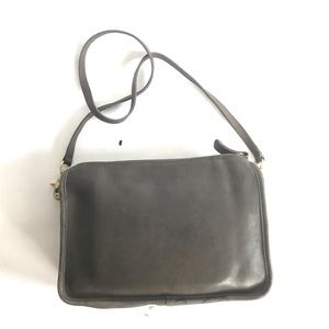 Coach Bags - Vintage Coach Gray 1980-90' made in USA